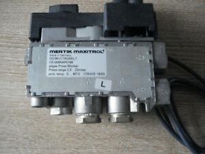 Mertik Maxitrol GV36 Gas Fire Control Valve, GV36-C1AOAKL1 Remote Upgradable