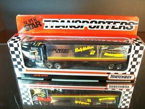 Rusty Wallace #2 Generic Miller GD 1992 1:87 Racing Team Transporter Matchbox