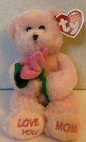 2006 Dear Mom the Bear Pink Beanie Babies Hallmark Mother's Day Love You