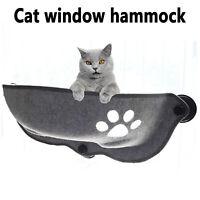 Katze Fenster Hängematte Kissen Bett Hängen Regal Sitz Nest Saugnapf Window Auto