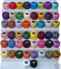 50 Anchor Crochet Cotton Embroidery Thread Balls *50 Best Colours