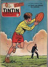 JOURNAL DE TINTIN N°430 - 17 JANVIER 1957 COUVERTURE REDING