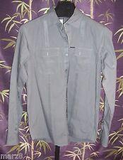 Marc Ecko Dark Gray Button down Shirt Mens Size Medium
