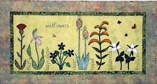 Wildflowers Applique Quilt Pattern by Quilts 'N Stuff