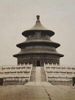 ANTIQUE 1920s PEKING CHINA TEMPLE OF HEAVEN ARTISTIC AMERICAN AMATEUR RARE PHOTO