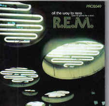 REM-All The Way To Reno Promo cd single