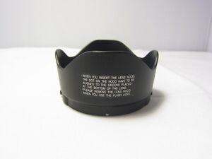 Unknown brand Plastic Petal Flower Lens Hood 65mm 6307003 snap on type
