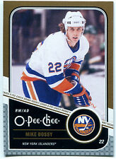 2011-12 O-Pee-Chee MIKE BOSSY Gold Marquee Legends #L9 Rare SP HOF OPC High BV