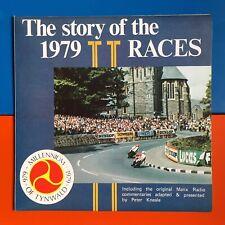 1979 Isle Of Man TT Sound Stories LP Mike Hailwood