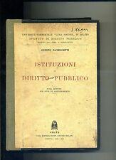Oreste Ranelletti# ISTITUZIONI DI DIRITTO PUBBLICO # CEDAM 1942
