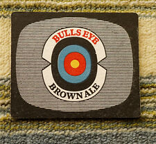 Very Old Beermat Coaster Bull's Eye Brown Ale (1960's)