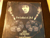 33 GIRI LP DISCO -THE BALLAD OF JIMI - JIMI HENDRIX & CURTIS KNIGHT- VINTAGE