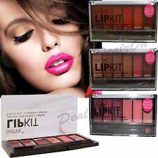 Technic 6 Colour Matte Lipgloss Lip Kit Palette-tropicana