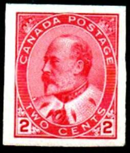 CANADA.1902.2 CENTS IMPERF. .M/MINT. SG177a