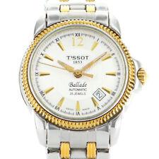 TISSOT T-CLASSIC BALLADE SAPPHIRE AUTOMATIK ETA 2671 DATE BICOLOR GOLD LADY UHR