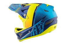 Troy Lee Designs D3 Composite Helmet Starburst Yellow Size Small; Open Box!!