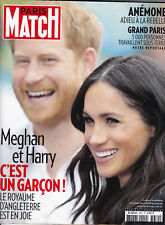 PARIS MATCH N° 3652 - 2019 - MEGHAN ET HARRY - REVUE MAG MAGAZINE