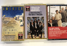 """The King's Singers """"America"""" Concert, Comedian Harmonists LOT of 3 cassettes"""