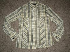 FRENCH CONNECTION CHECK SLIM FIT LONG SLEEVE SHIRT SIZE MEDUM