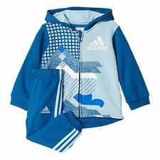 Adidas Infant French Terry Full Tracksuit Children Baby Hooded Jogger Set 99b2f571fe