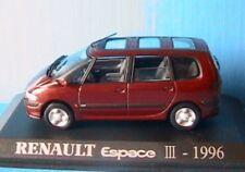 RENAULT ESPACE 3 III RXT 1996 UNIVERSAL HOBBIES 1/43 M6 COLLECTIONS MARRON