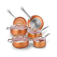 Stellar 6000 casserole ensemble 3 pièces anodisé induction 16//18//20cm S6A1 Lave-vaisselle