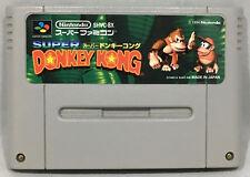 SUPER DONKEY KONG (DONKEY KONG COUNTRY) NINTENDO SF GAME - JAPANESE VERSION