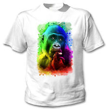 MONKEY 2 - NEW COTTON WHITE TSHIRT