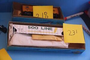 SOO LINE Covered Hopper car # 74474
