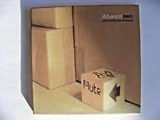 Various - Advance! 2002.1 Promo CD 8 Track Compilation Mute ‎– ADVANCE 5 CD