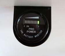 48M Volt Golf Cart Battery Meter - for All Lead Acid Batteries, Exide, Trojan MB