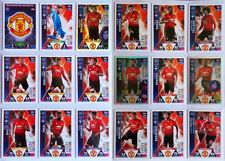 MANCHESTER UNITED Match Attax Champions 2018/19 - Complete 18 card base set