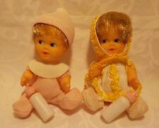 ♥♥  für Petra  - 2 Plasty Babys - Vintage / Doll / Modepuppe  ♥♥