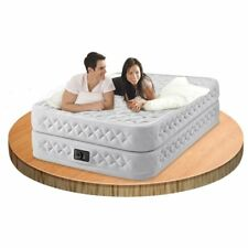 INTEX Queen Supreme Airflow Fiber-Tech Airbed Mattress & Electric Pump #64464
