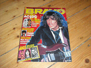 BRAVO 50/1980 ACE FREHLEY KISS TANYA ROBERTS STEVE McQUEEN ACDC STAR WARS ABBA