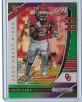 2020 Panini Prizm draft picks football Purple Green Ceedee Lamb 181/199