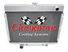 1967 1968 1969 Ford Fairlane 4 Row Core Champion SubZero Radiator