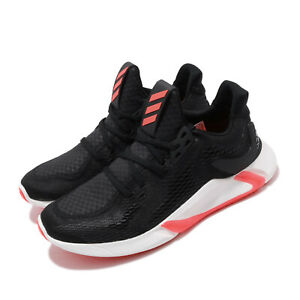 adidas Edge XT Black Solar Red White Men Running Training Shoes Sneakers EE4162