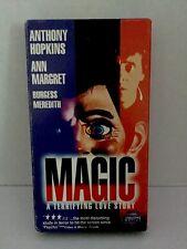 Magic VHS Anthony Hopkins Horror