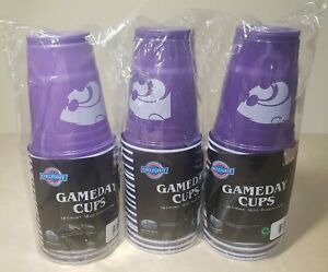 Kansas State Wildcats Plastic Game Day Party Cups (3 Packs- 18 Count) 18 oz NCAA
