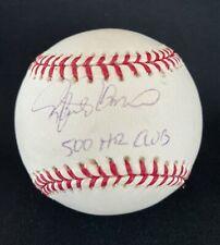 RAFAEL PALMEIRO 500 HR CLUB SIGNED AUTOGRAPHED OFFICIAL MLB BASEBALL W/COA