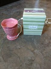 Scentsy Sweetheart Warmer Pink Excellent Condition! Original box!