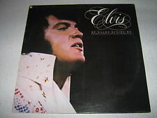 ELVIS PRESLEY 33 TOURS UK HE WALKS BESIDE ME