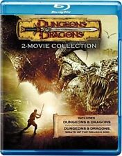 Dungeons and Dragons 1 / 2 Wrath of The Dragon God Blu-ray Elemental Might