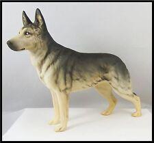 Lovely Vintage Beswick Dog Figure :~ Alsatian Ulrica of Brits Large 969 Matt