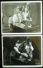 10 LAUREL & HARDY PHOTOS - 1930 THE LAUREL-HARDY MURDER CASE - 1960s REPRINTS
