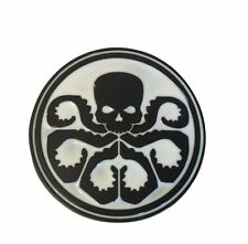 Marvel Comics Captain America Series Black and White Hydra Symbol Belt Buckle