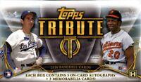 2016 Topps Tribute Baseball Hobby Box (Sealed)