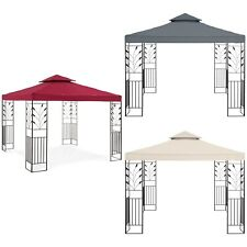 Pérgolas De Metal Para Jardín Pabellones Cenadores Carpas Varios Colores 3 x 3 m