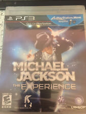 PS3 Michael Jackson The Experience Brand New Sealed
